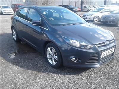 2013 Ford Focus Zetec 999 Petrol Manual 6 Speed 5 Door Hatchback