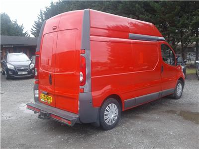 2010 Renault Trafic LH29 DCI H/R 1996 Diesel Manual 6 Speed Van