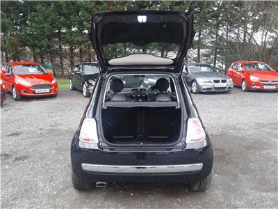 2013 Fiat 500 Lounge TwinAir 85 875 Petrol Automatic 5 Speed 3 Door Hatchback