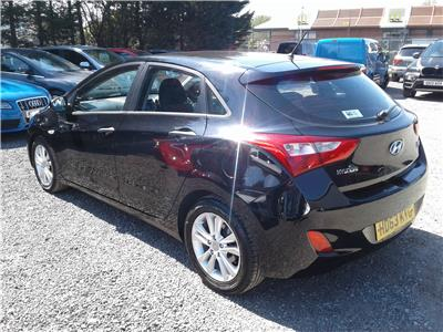 2013 Hyundai i30 Classic Blue Drive 1582 Diesel Manual 6 Speed 5 Door Hatchback