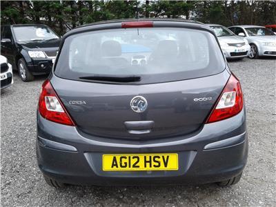 2012 Vauxhall Corsa Exclusiv 1248 Diesel Manual 5 Speed 5 Door Hatchback