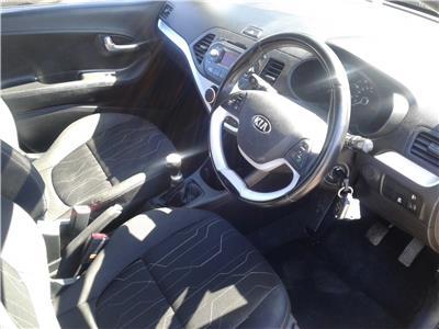 2012 Kia Picanto 2 998 Petrol Manual 5 Speed 5 Door Hatchback