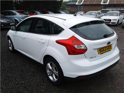 2013 Ford Focus Zetec TDCi 1560 Diesel Manual 6 Speed 5 Door Hatchback