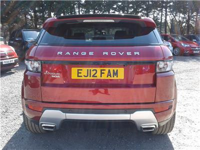 2012 Land Rover Range Rover Dynamic SD4 4WD 2179 Diesel Automatic 6 Speed 5 Door Estate
