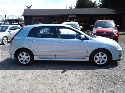 2006 Toyota Corolla Colour Collection VVT-i 1598 Petrol Manual 5 Speed 5 Door Hatchback