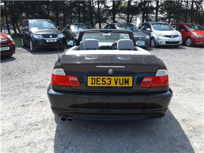 2003 BMW 3 Series 330 Ci Sport 2979 Petrol Manual 6 Speed 2 Door Cabriolet