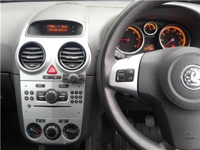 2011 Vauxhall Corsa Exclusiv 1248 Diesel Manual 5 Speed 5 Door Hatchback