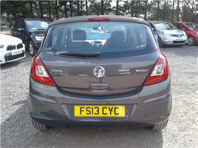 2013 Vauxhall Corsa Exclusiv 1248 Diesel Manual 5 Speed 5 Door Hatchback