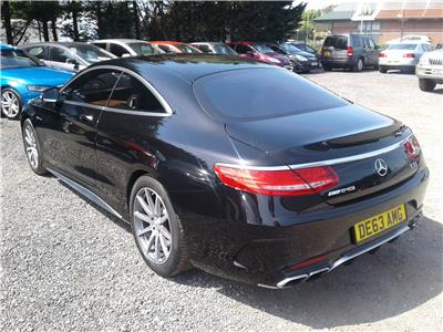 2016 Mercedes-Benz S Class AMG S63 5461 Petrol Automatic 7 Speed 2 Door Coupe