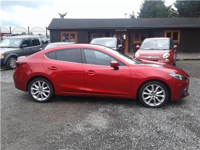 2015 Mazda 3 Sport Nav 2191 Diesel Manual 6 Speed 4 Door Saloon