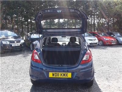 2011 Vauxhall Corsa Exclusiv 1248 Diesel Manual 5 Speed 5 Door Hatchback