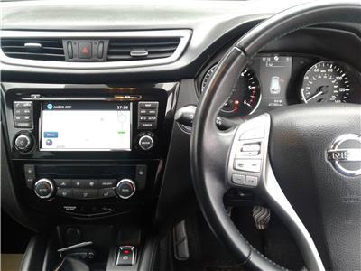 2016 Nissan Qashqai N-Tec dCi 1461 Diesel Manual 6 Speed 5 Door Hatchback