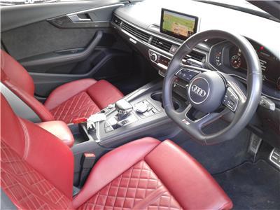 2017 AUDI A4 TFSI S4 QUATTRO 2995 PETROL AUTOMATIC 4 DOOR SALOON