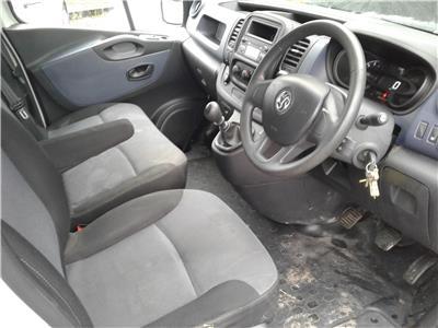 2014 Vauxhall Vivaro L1H1 CDTi 1598 Diesel Manual 6 Speed Van L/Side