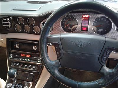 2002 BENTLEY ARNAGE T 6750 PETROL AUTOMATIC 4 Speed 4 DOOR SALOON
