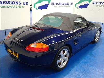 2001 PORSCHE BOXSTER S 3179 PETROL MANUAL 6 Speed 2 DOOR CONVERTIBLE