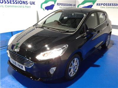 2018 FORD FIESTA ZETEC 1084 PETROL MANUAL 5 DOOR HATCHBACK