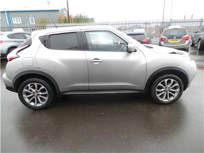 2015 Nissan Juke Tekna Pure Drive dCi 1461 Diesel Manual 6 Speed 5 Door Hatchback
