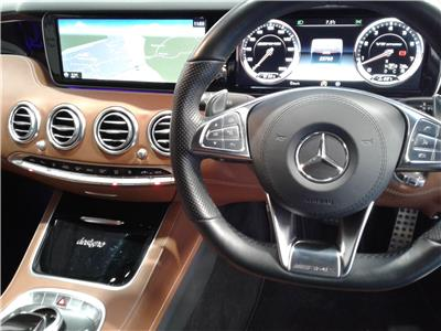 2016 MERCEDES S-CLASS AMG S 63 5461 PETROL AUTOMATIC 7 Speed 2 DOOR COUPE
