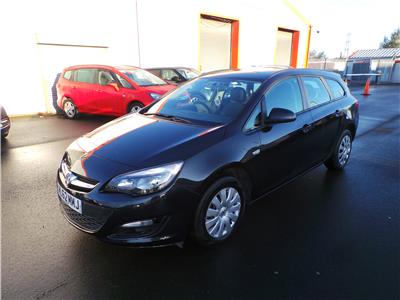 2012 VAUXHALL ASTRA EXCLUSIV 1398 PETROL MANUAL 5 DOOR ESTATE
