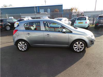 2012 VAUXHALL CORSA ACTIVE AC 1398 PETROL MANUAL 5 DOOR HATCHBACK