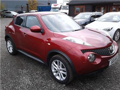 2011 NISSAN JUKE ACENTA PREMIUM 1598 PETROL MANUAL 5 DOOR HATCHBACK