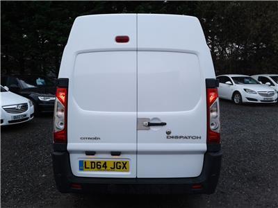 2014 Citroen Dispatch L2H2 1200 125 HDi 1997 Diesel Manual 6 Speed Van