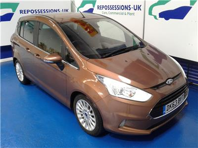 2013 Ford B-Max Titanium 999 Petrol Manual 5 Speed M.P.V.