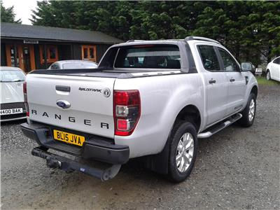 2015 Ford Ranger D/Cab Wildtrack 4WD 3196 Diesel Manual 6 Speed Pick-Up