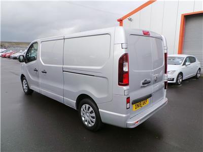 2018 Vauxhall Vivaro 2900 L2H1 Sportive CDTi BlueIn 1598 Diesel Manual 6 Speed Van L/Side