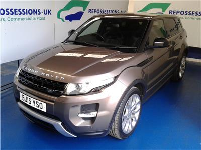 2015 Land Rover Range Rover Evoque 2011 To 2015 Dynamic SD4 4WD 2179 Diesel Manual 6 Speed 5 Door Estate