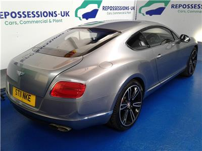 2014 Bentley  Continental GT V8 3993 Petrol Automatic 8 Speed 2 Door Coupe