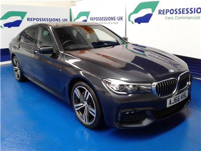 2017 BMW 7 SERIES 730d xDrive M Sport 4WD