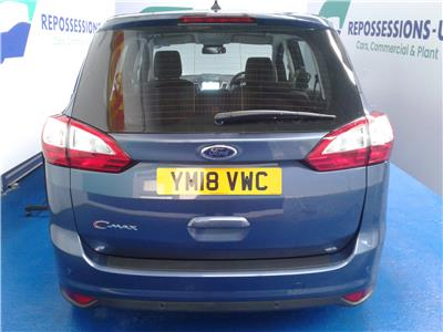 2018 Ford C-Max GRAND TITANIUM 999 Petrol Manual 6 Speed