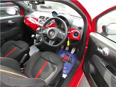 2013 Fiat 500 Abarth T-Jet 1368 Petrol Manual 5 Speed 3 Door Hatchback