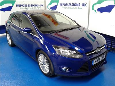 2014 Ford Focus Zetec 999 Petrol Manual 5 Speed 5 Door Hatchback