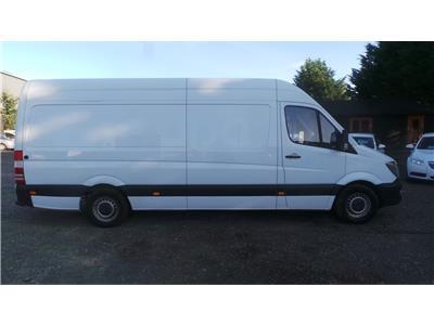 2015 Mercedes-Benz Sprinter 313 CDi LWB 2143 Diesel Manual 6 Speed Van L/Side