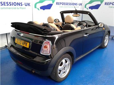 2010 MINI Convertible One 1598 Petrol Manual 6 Speed 2 Door Cabriolet