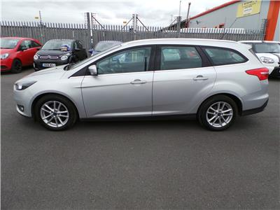 2016 Ford Focus Zetec TDCi 120 1499 Diesel Manual 6 Speed 5 Door Estate