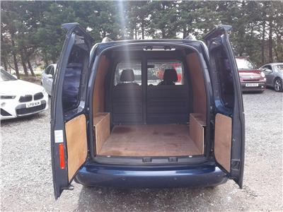2015 Volkswagen Caddy Highline TDi Bluemotion 1598 Diesel Automatic 7 Speed Van L/Side