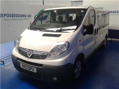 2013 Vauxhall Vivaro 2900 115 (9 SEAT) CDTi LWB Med 1995 Diesel Manual 6 Speed Van L/Side