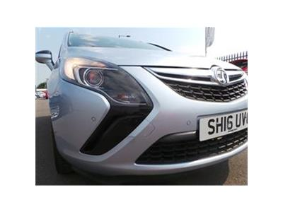 2016 VAUXHALL ZAFIRA TOURER DESIGN 1364 PETROL MANUAL 6 Speed 5 DOOR MPV