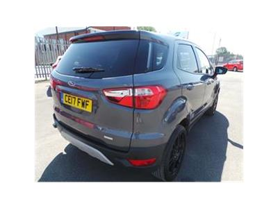 2017 FORD ECOSPORT TITANIUM S 999 PETROL MANUAL 5 Speed 5 DOOR HATCHBACK