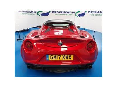 2017 ALFA ROMEO 4C TBI SPIDER 1742 PETROL SEMI AUTO 6 Speed 2 DOOR CONVERTIBLE