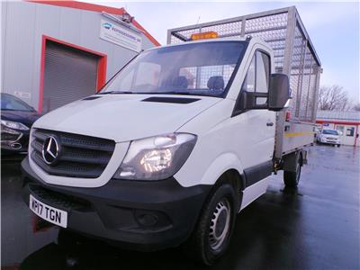 2017 MERCEDES SPRINTER 314CDI 2143 DIESEL MANUAL 6 Speed CHASSIS CAB