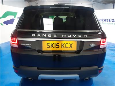 2015 LAND ROVER RANGE ROVER SPORT SDV6 HSE 2993 DIESEL AUTOMATIC 8 Speed 5 DOOR ESTATE