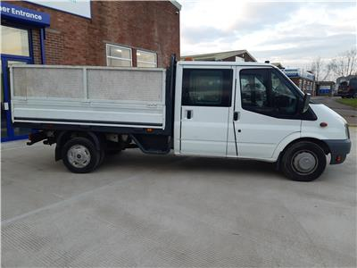 2012 FORD TRANSIT 350 DROPSIDE 2402 DIESEL MANUAL 6 Speed CHASSIS CAB