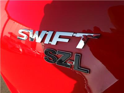 2017 SUZUKI SWIFT SZ-L 1242 PETROL MANUAL 5 Speed 5 DOOR HATCHBACK