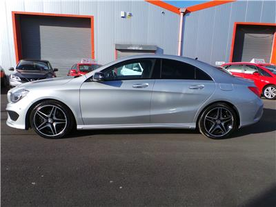 2015 MERCEDES CLA CLA220 CDI AMG SPORT 2143 DIESEL SEMI AUTO 7 Speed 4 DOOR COUPE