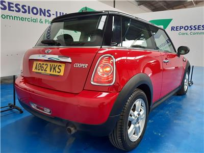 2012 MINI HATCH COOPER 1598 PETROL MANUAL 6 Speed 3 DOOR HATCHBACK